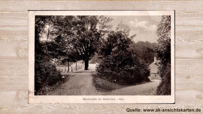 Postkarte Mönchemühle